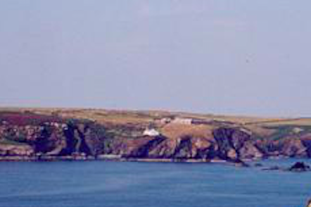 An Island off The Pembrokeshire Coast